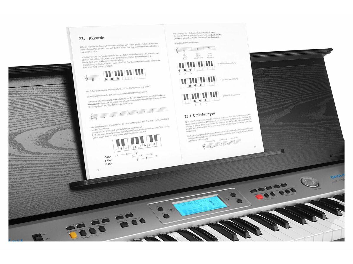 Bild 5 von FunKey DP-61 II Digitalpiano mit Ständer Schwarz