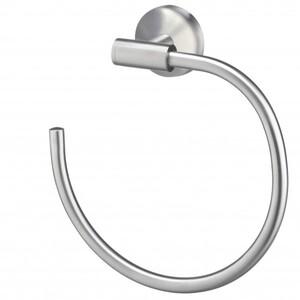 TrendLine Handtuchring Simple Round ,  Edelstahl gebürstet, chrom