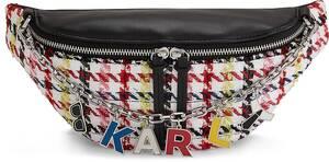 Karl Lagerfeld, Gürteltasche K/studio Bum Bag in weiß, Gürteltaschen für Damen