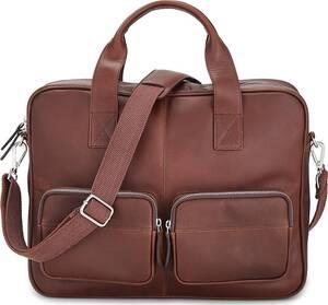 Belmondo, Office-Bag in mittelbraun, Businesstaschen für Herren