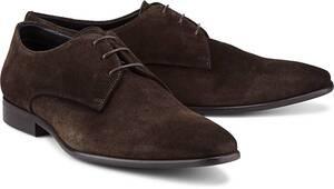 Belmondo, Derby-Schnürschuh in dunkelbraun, Business-Schuhe für Herren