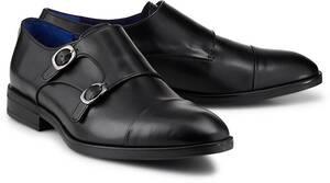 Belmondo, Double-Monk-Slipper in schwarz, Slipper für Herren