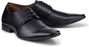 Belmondo, Derby-Schnürer in schwarz, Business-Schuhe für Herren