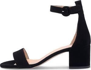 Bianca Di, Riemen-Sandalette in schwarz, Sandalen für Damen