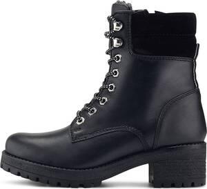 Another A, Schnür-Boots in schwarz, Boots für Damen
