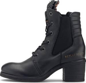 Replay, Schnür-Boots Dolly - Heisler in schwarz, Stiefeletten für Damen