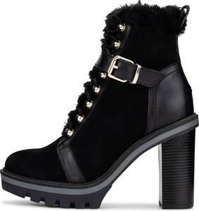 Tommy Hilfiger, Winter-Stiefelette Tommy Warm Lined in schwarz, Boots für Damen