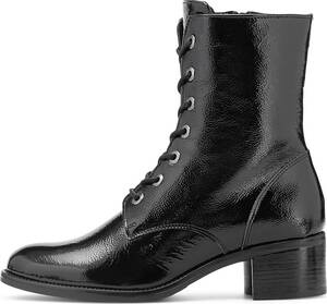 Belmondo, Lack-Stiefelette in schwarz, Stiefeletten für Damen