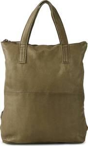 COX, Shopper-Rucksack in mittelgrün, Rucksäcke für Damen