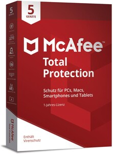 McAfee Total Protection 5 Device Software