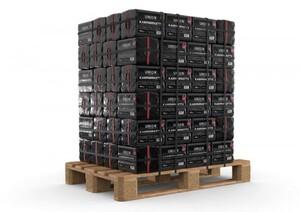 Braunkohle Kaminbriketts 10 kg Palettenabnahme, 96 Pack