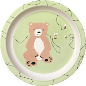 babylove Bambusteller Bär