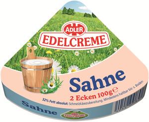ADLER Edelcreme Sahne 2x 50 g