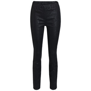 Damen Jeggings mit Folien-Print