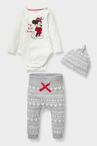 Micky Maus - Baby-Weihnachtsoutfit - Bio-Baumwolle
