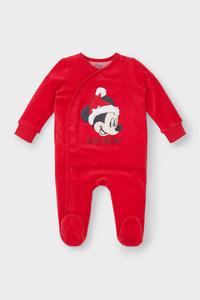 Micky Maus - Baby-Weihnachts-Schlafanzug - Bio-Baumwolle