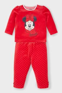 Minnie Maus - Baby-Pyjama - Bio-Baumwolle - 2 teilig