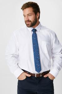 Hemd und Weihnachts-Krawatte - Regular Fit - Kent