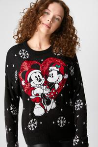 Weihnachtspullover - Glanz-Effekt - Disney