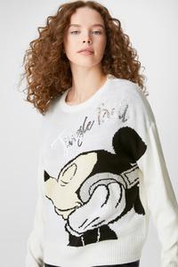 Pullover - Glanz-Effekt - Micky Maus