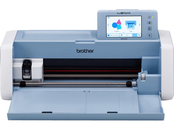 BROTHER SDX1200 Hobbyplotter Blau/Weiß