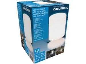 GRUNDIG Outdoor Tischlampe Weiß