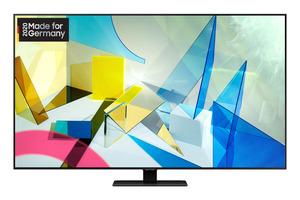 SAMSUNG GQ49Q80T,  QLED TV, Carbonsilber