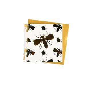 Klappkarte Insekt
