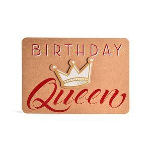 Postkarte Birthday Queen