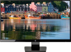 HP 27w LED-Monitor (1920 x 1080 Pixel, Full HD, 5 ms Reaktionszeit, inkl. Office-Anwendersoftware Microsoft 365 Single im Wert von 69 Euro)