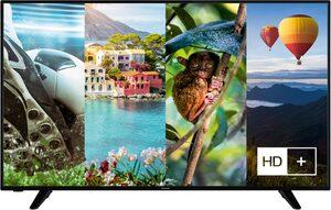 Hanseatic 55H600UDS LED-Fernseher (139 cm/55 Zoll, 4K Ultra HD, Smart-TV, HDR10, Gratis: 6 Monate HD+ im Wert von 34,50)