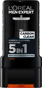 L'ORÉAL PARIS MEN EXPERT Duschgel »Carbon Clean«, reinigt sensible Männerhaut & spendet Feuchtigkeit