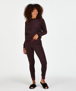 Hunkemöller Leggings Micro Fleece Rot