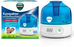WICK Luftbefeuchter WUL505, 0,5 l Wassertank, kompakter Luftbefeuchter