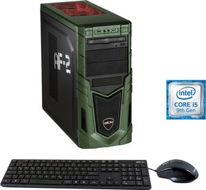 Hyrican Military Gaming 6579 Gaming-PC (Intel 9400F Core i5, RTX 2060, 16 GB RAM, 1000 GB HDD, 480 GB SSD, Luftkühlung, inkl. Office-Anwendersoftware Microsoft 365 Single im Wert von 69 Euro)