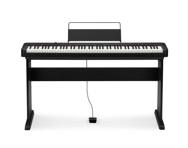 CASIO Digitalpiano »CDP-S100«, (Set), mit Stand, Pedal, Netzadapter und Notenhalter
