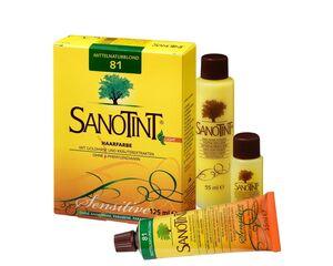 Sanotint Haarfarbe Sensitive light Nr. 81 Mittel Natur Blond 125 ml