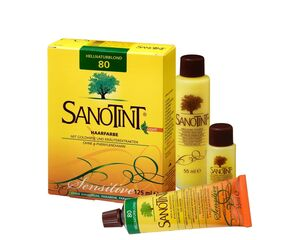 Sanotint Haarfarbe Sensitive light Nr. 80 Hell Natur Blond 125 ml
