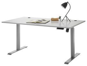 Schreibtisch in Hellgrau 'Pronto'