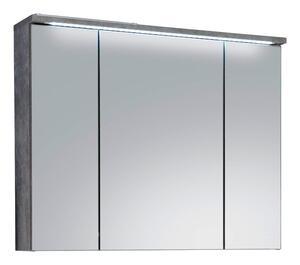 Spiegelschrank in Hellgrau ´SPLASH 80X68 CM HELLGRAU´