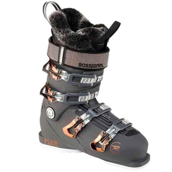 Skischuhe Piste Pure Pro 100 Damen grau