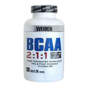 WEIDER BCAA-Kapseln Aminosäuren 130×