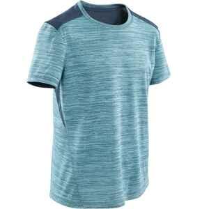 T-Shirt atmungsaktiv Synthetik S500 Gym Kinder hellblau