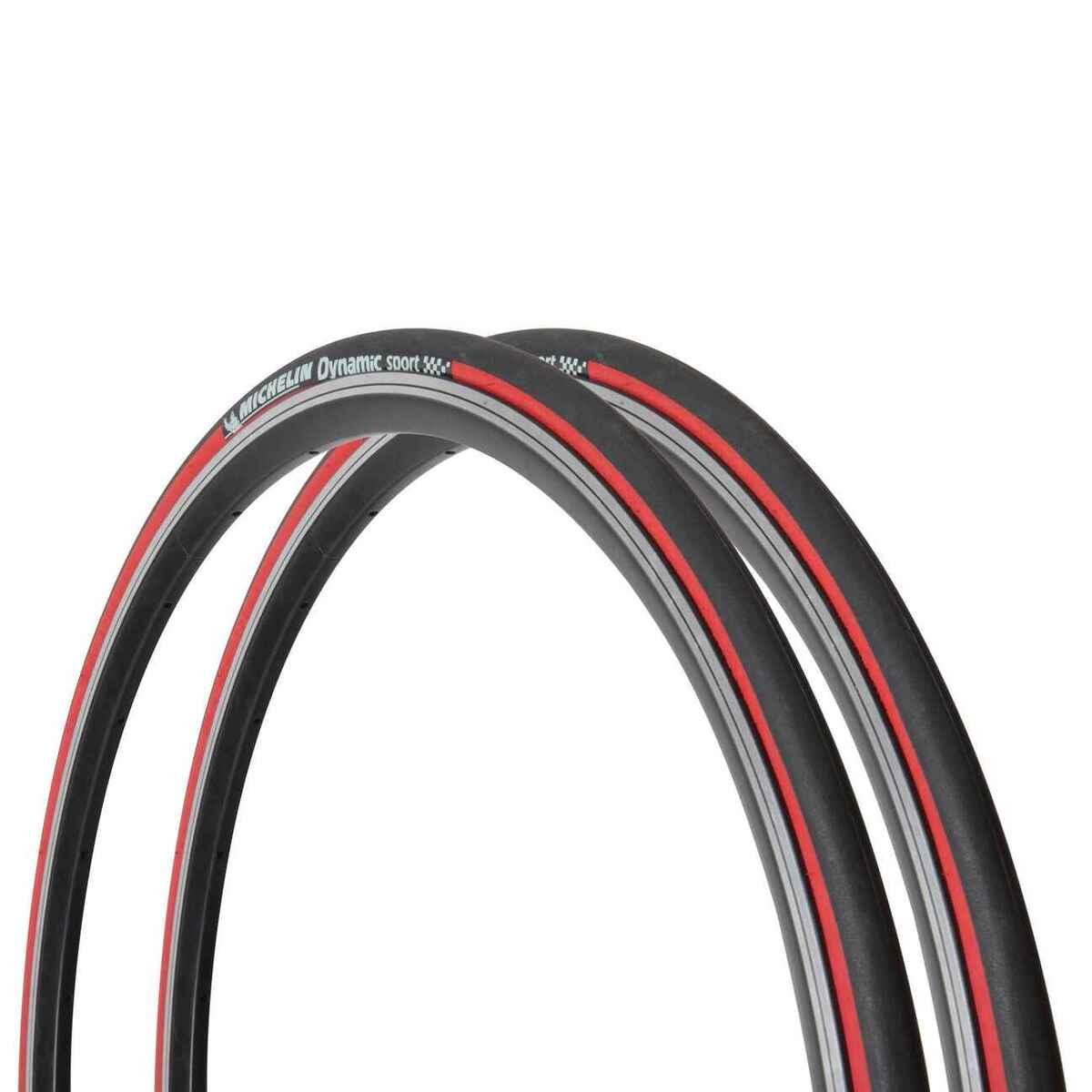 Bild 1 von 2 Drahtreifen Rennrad Dynamic Sport 700x23 (23-622) rot