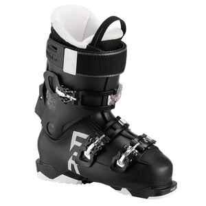 Skischuhe Freeride 100 Frauen schwarz