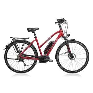 "E-Bike 28"" Riverside 500 Damen Performance Line Cruise 400Wh rot"