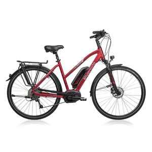 "E-Bike 28"" Riverside 500 Damen Performance Line Cruise 400Wh rot"