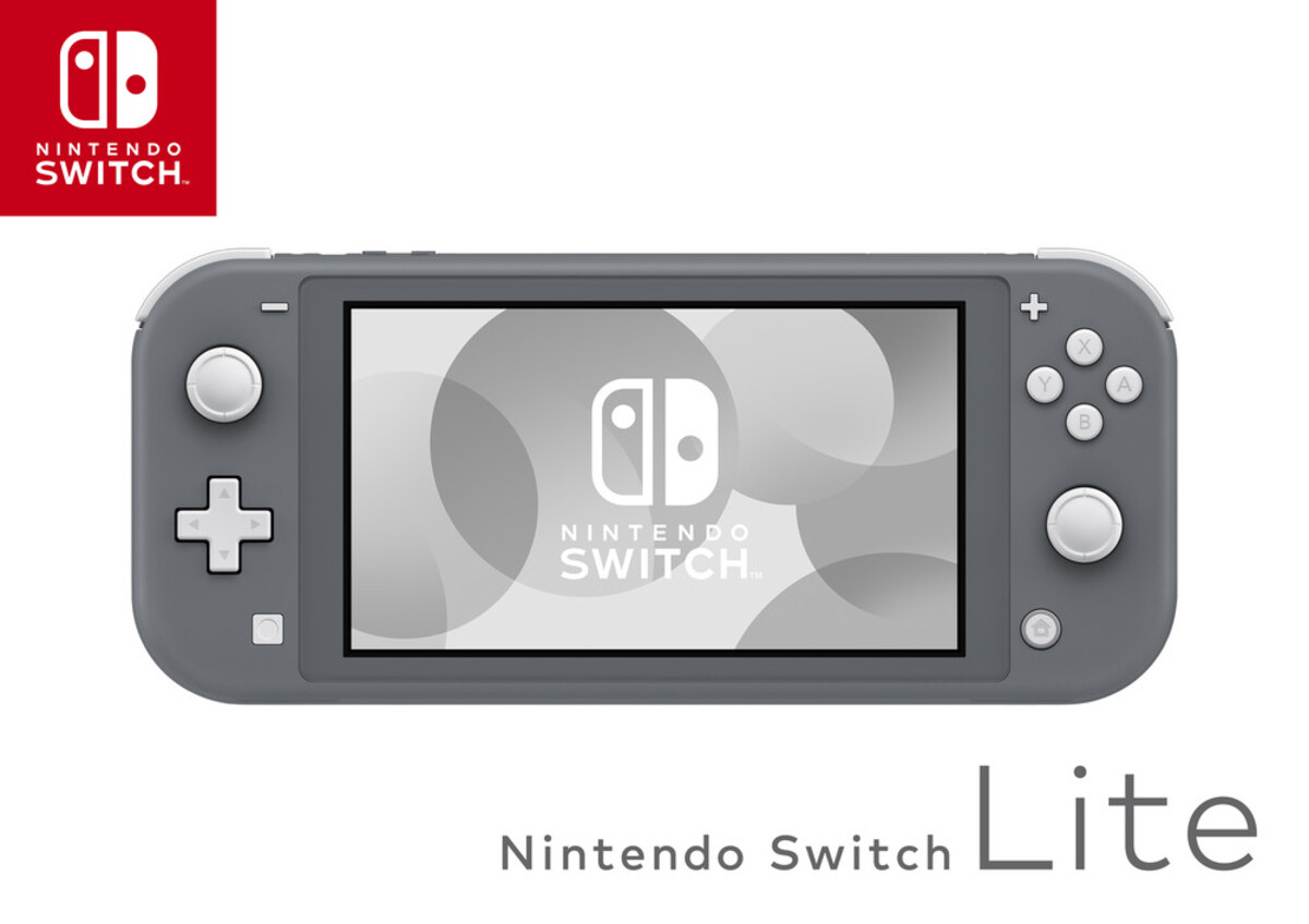 Bild 4 von NINTENDO Switch Lite grau + + New Super Mario Bros. U Deluxe Switch Spielkonsole (5,5 Zoll (14 cm) / 32 GB)