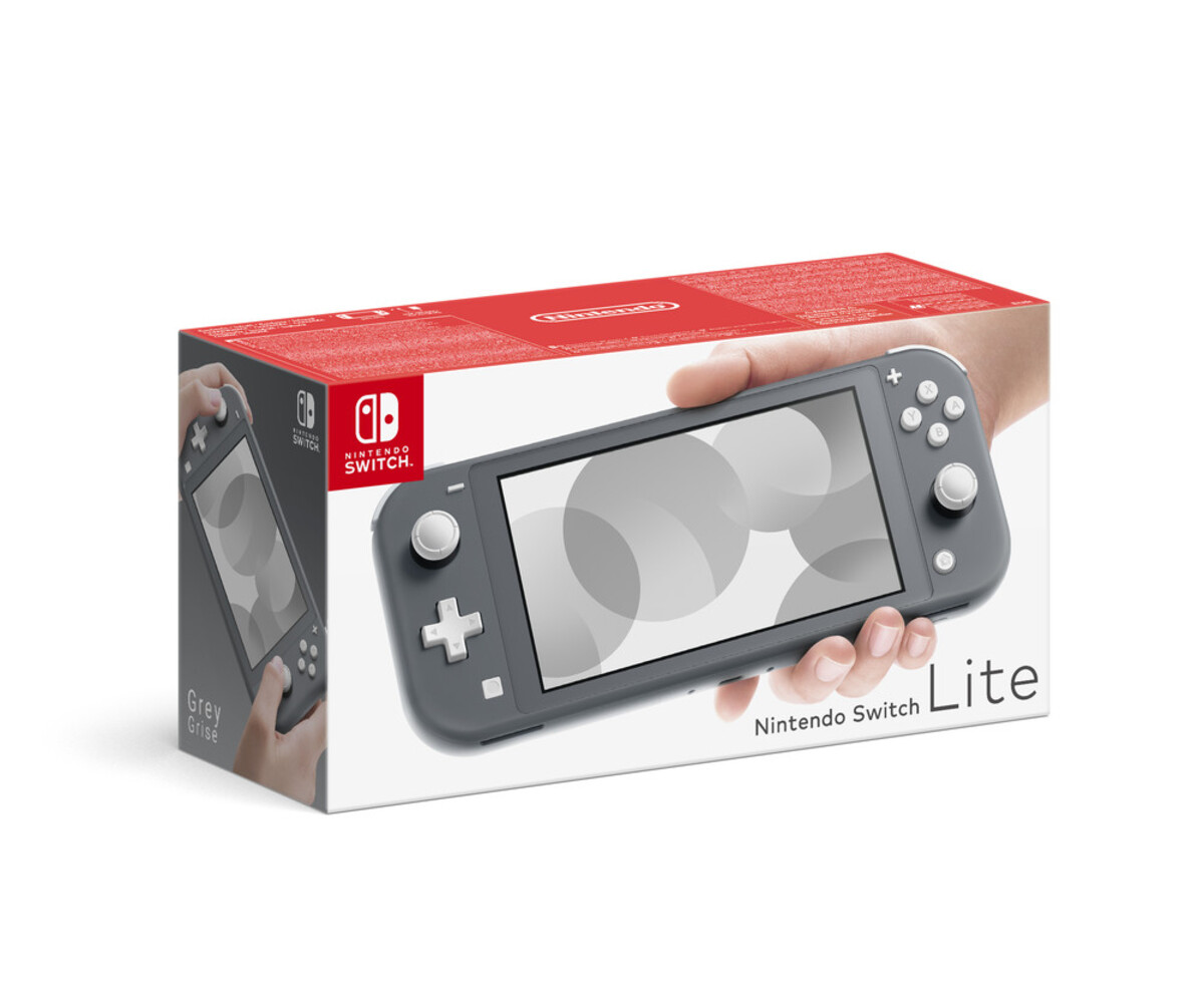 Bild 5 von NINTENDO Switch Lite grau + + New Super Mario Bros. U Deluxe Switch Spielkonsole (5,5 Zoll (14 cm) / 32 GB)