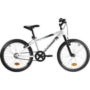 Mountainbike Kinderfahrrad 20 Zoll Rockrider ST100 weiss